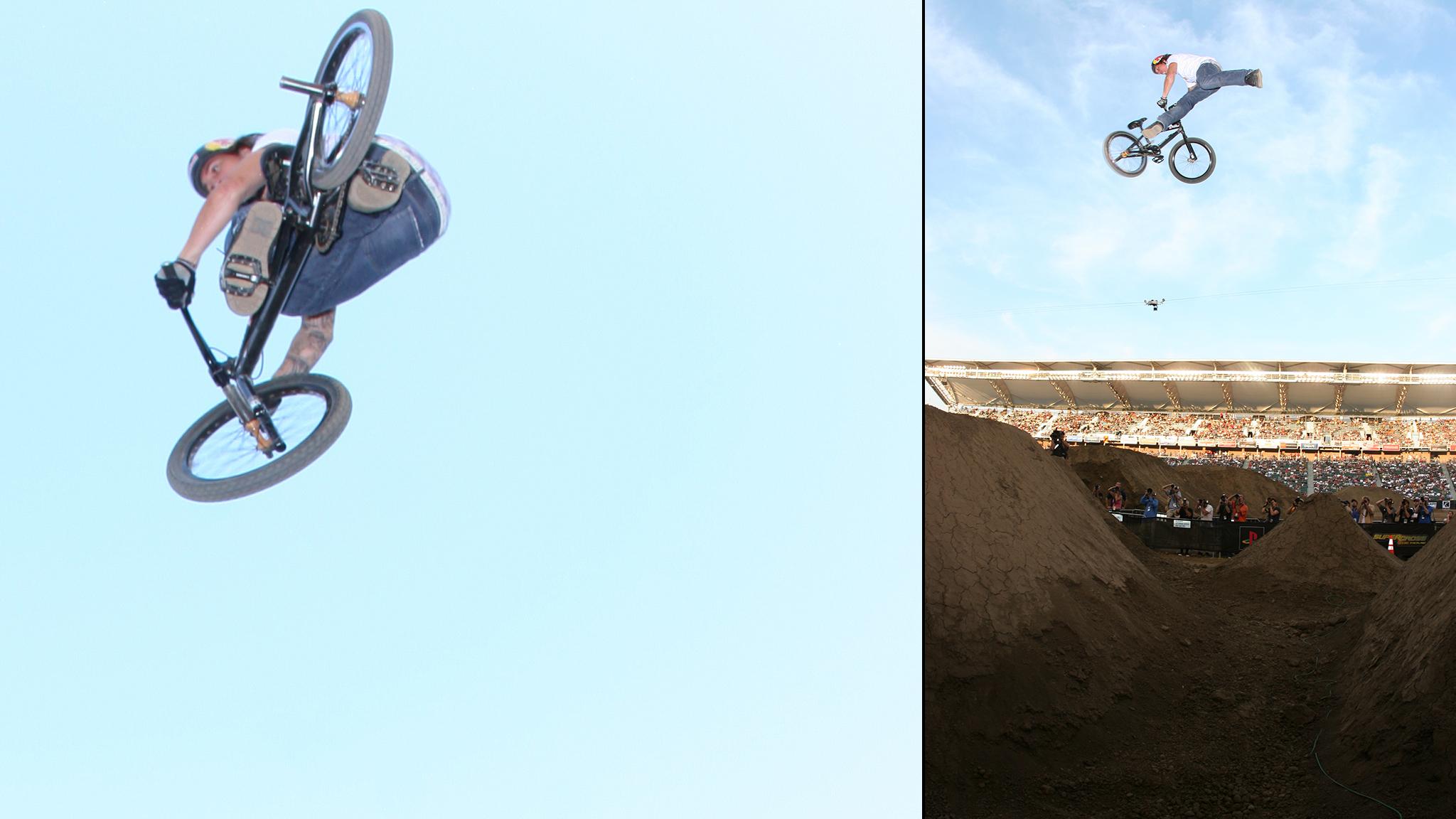 Corey Bohan dominates BMX Dirt