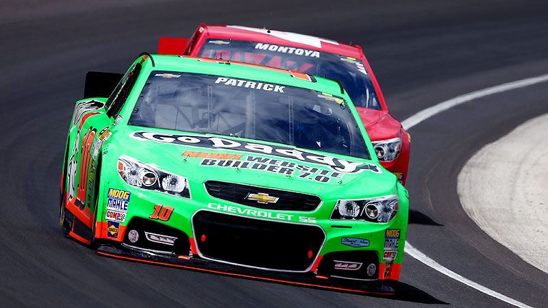A brutish stock car is nothing like the sleek open-wheel car Danica Patrick raced so successfully at Indy, and thus far, the results have been different, too.