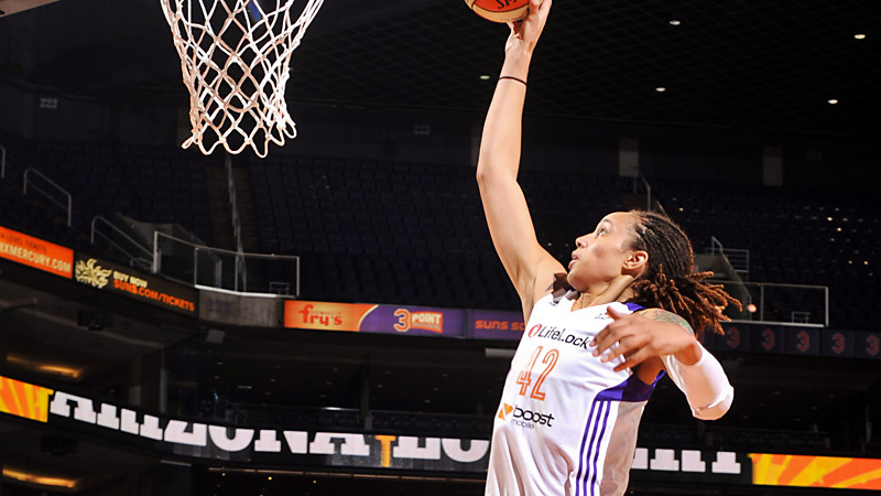 Brittney Griner can dunk, but are there enough players who can to make for a truly competitive contest?