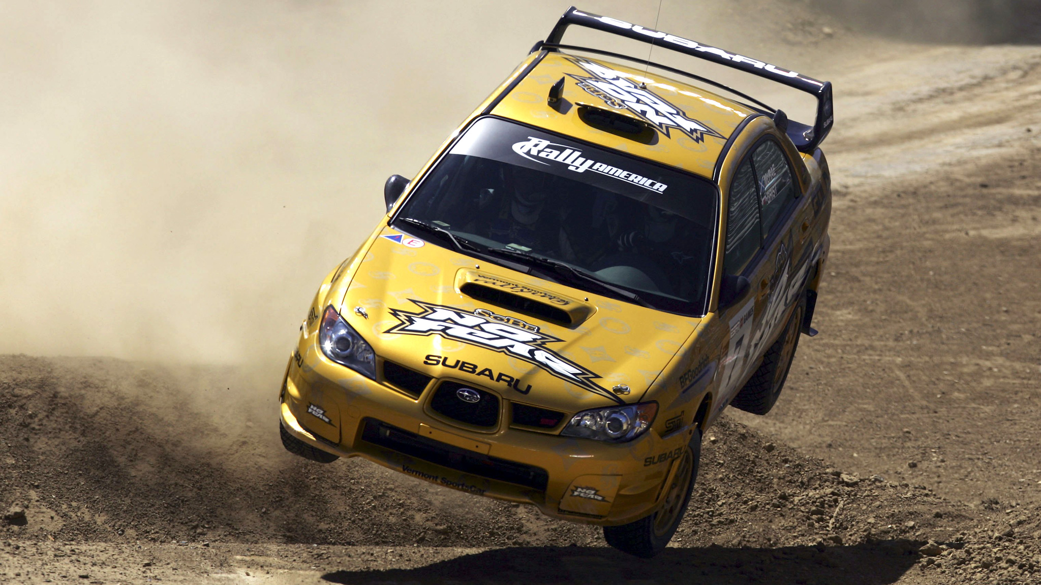 Rally Racing Joins X, Colin McRae Rolls, 2006