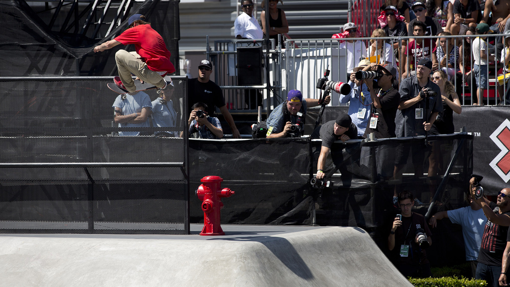 Ryan Sheckler, seen here at X Games Los Angeles 2012, is still the youngest gold medalist in X Games history. (Sheckler won gold in 2003 at age 13.)