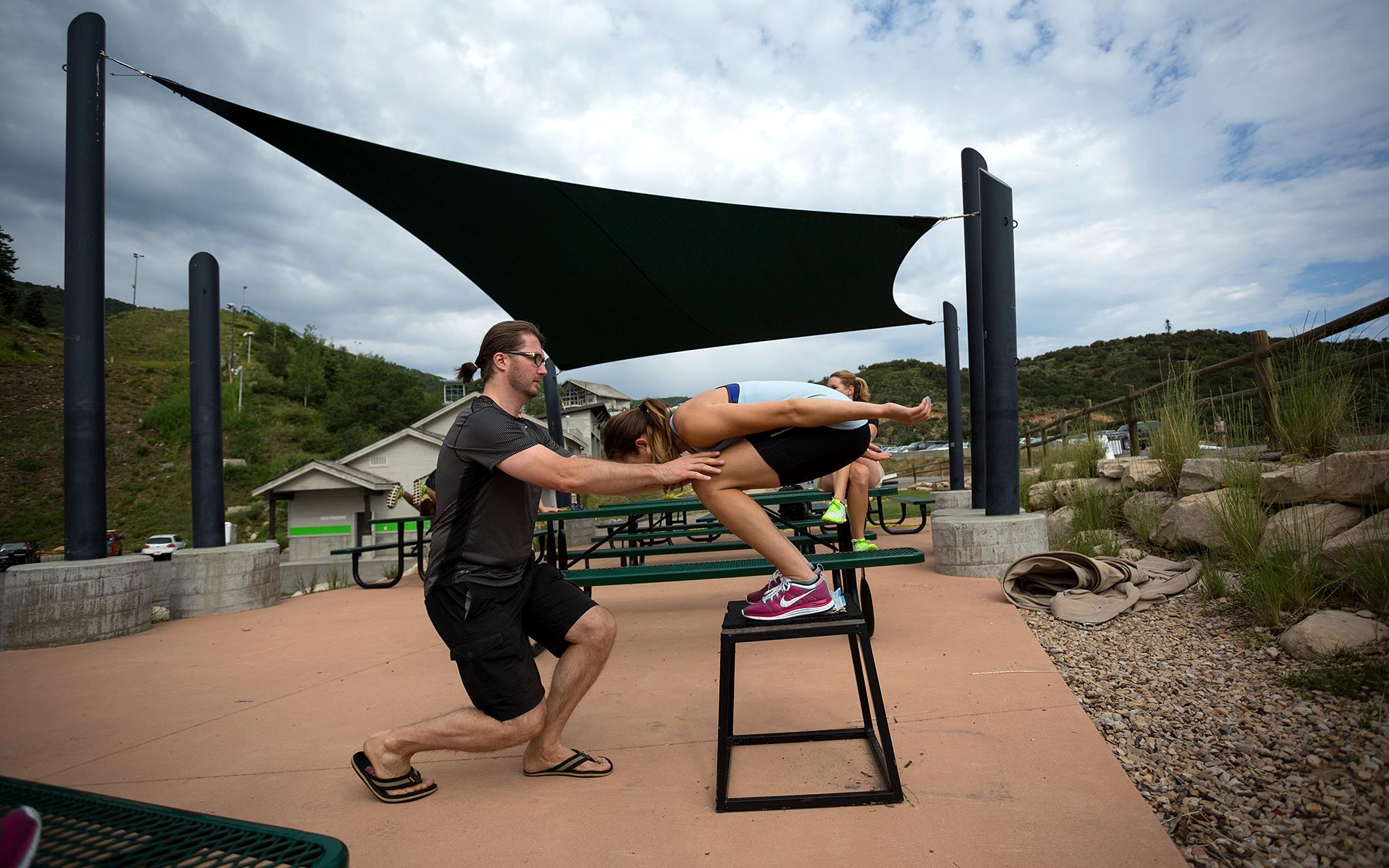 Total Access: U.S. women's ski jumping team