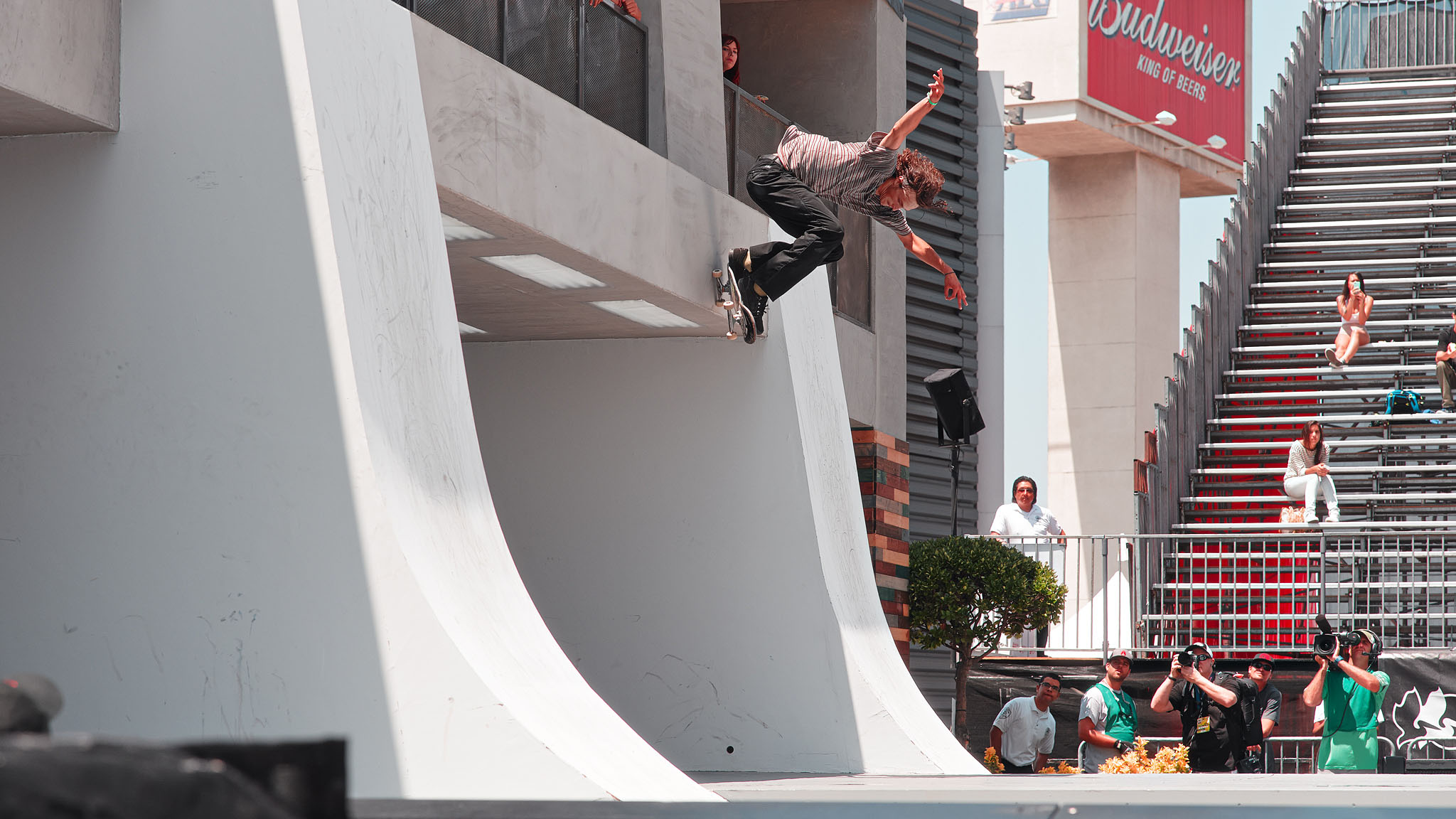 Evan Smith didn't get the top qualifying spot in SLS Select on Thursday, so we won't be seeing him in Street League at X Games on Friday, but he came close. He definitely was the crowd favorite.