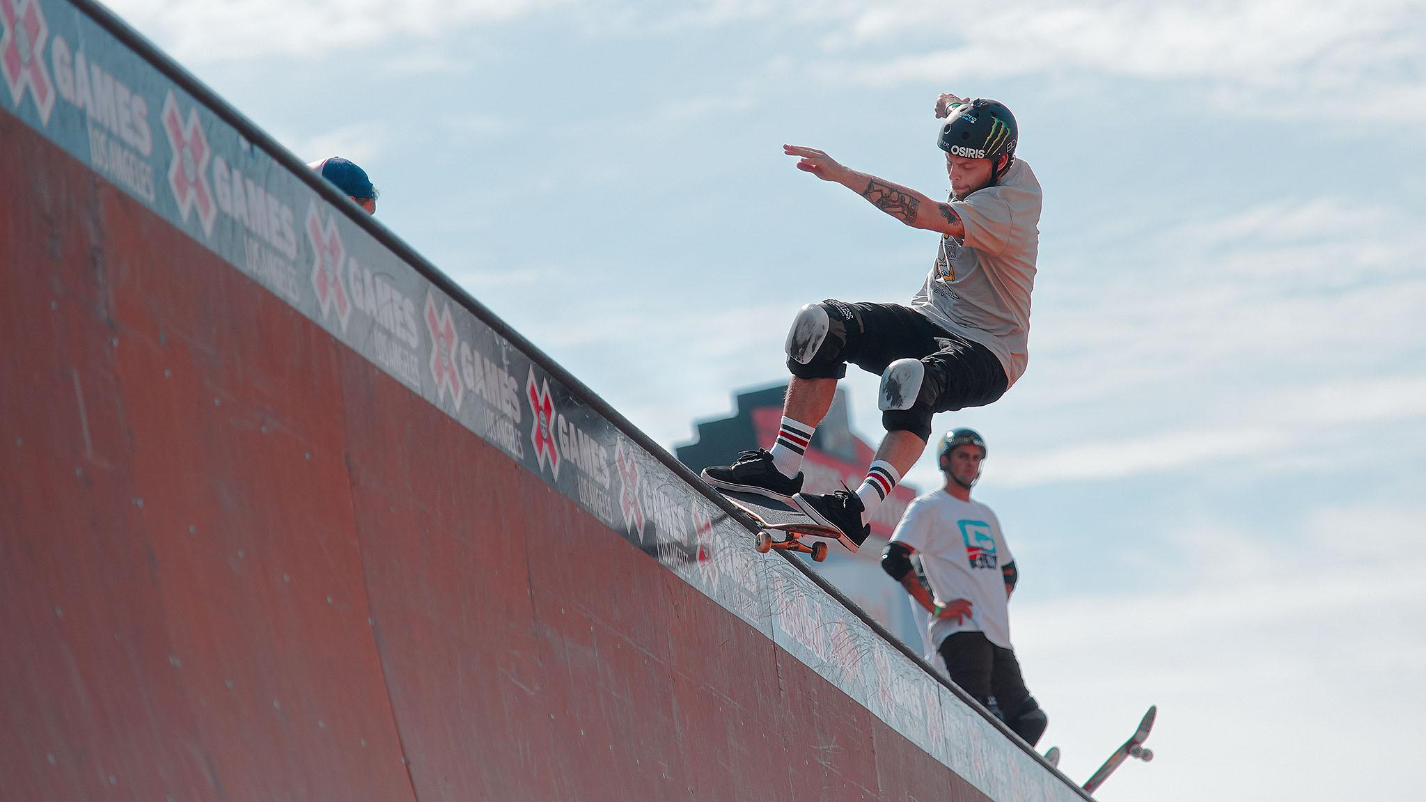 PLG: Skateboard Vert Elims