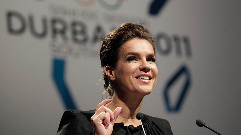 Katarina Witt said the travel she got to do as chief of Munich's bid for the 2018 Olympics was some of the most enjoyable of her life.