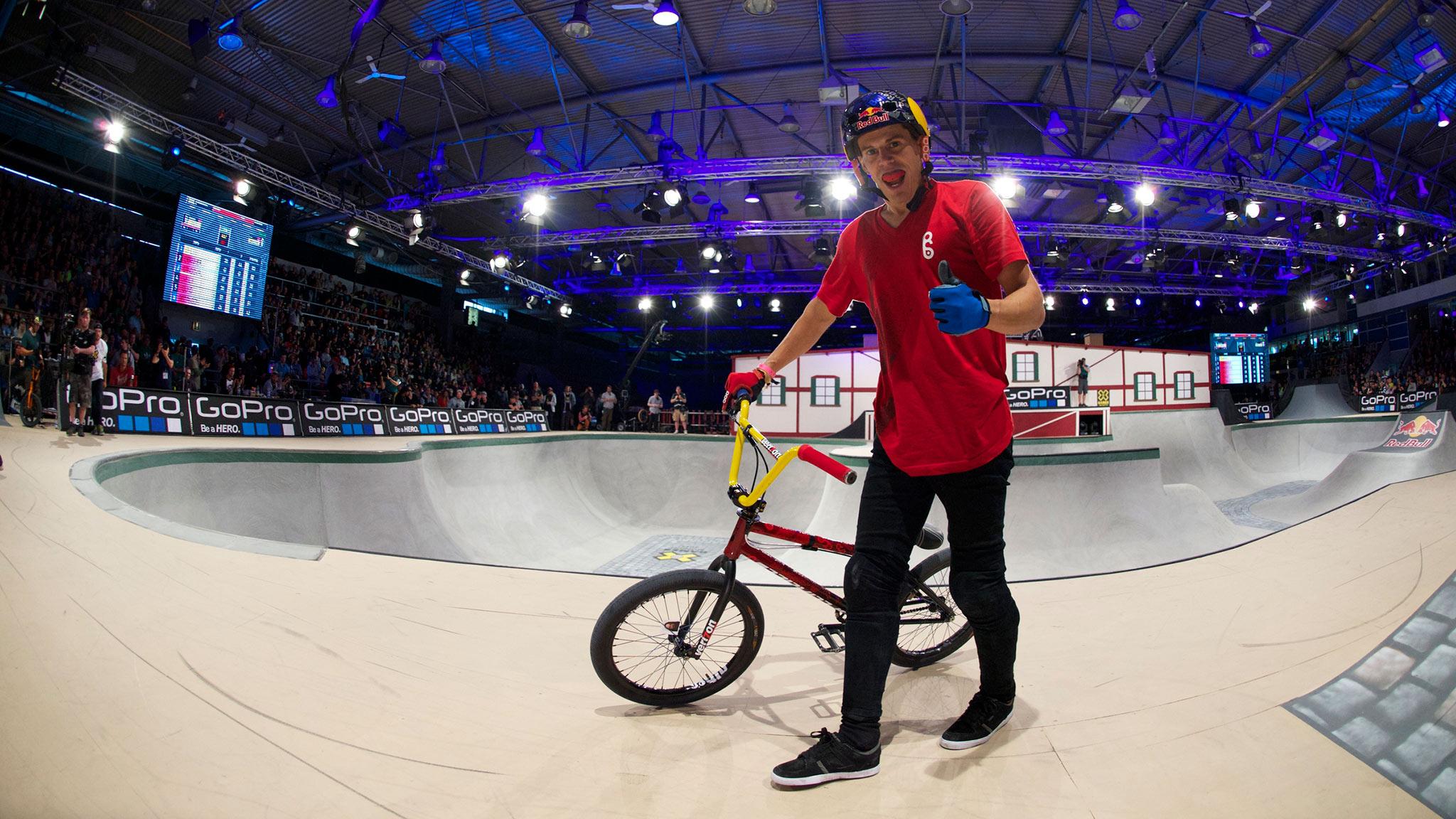 Daniel Dhers -- BMX Park