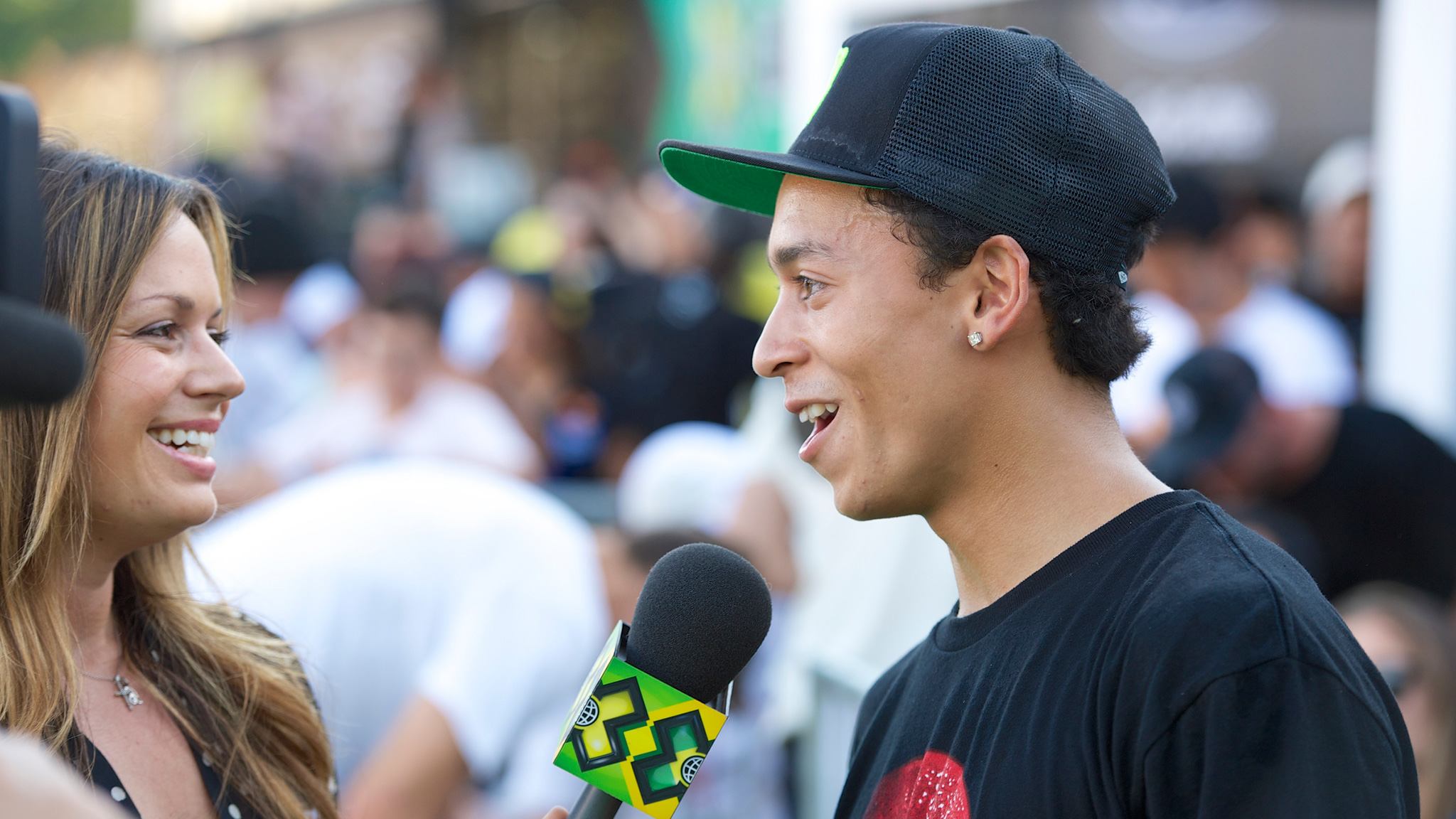 Nyjah Huston -- Street League Skateboarding