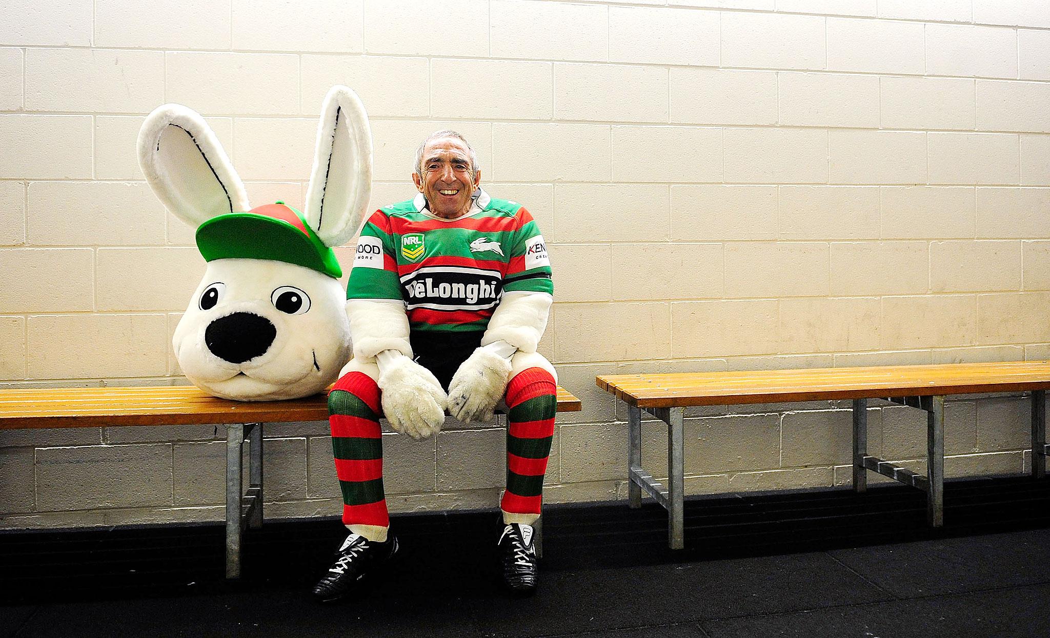 Rabbitohs Mascot
