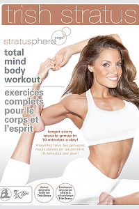 Trish Stratus shares her love of yoga at her studio in Ontario and through her DVD.