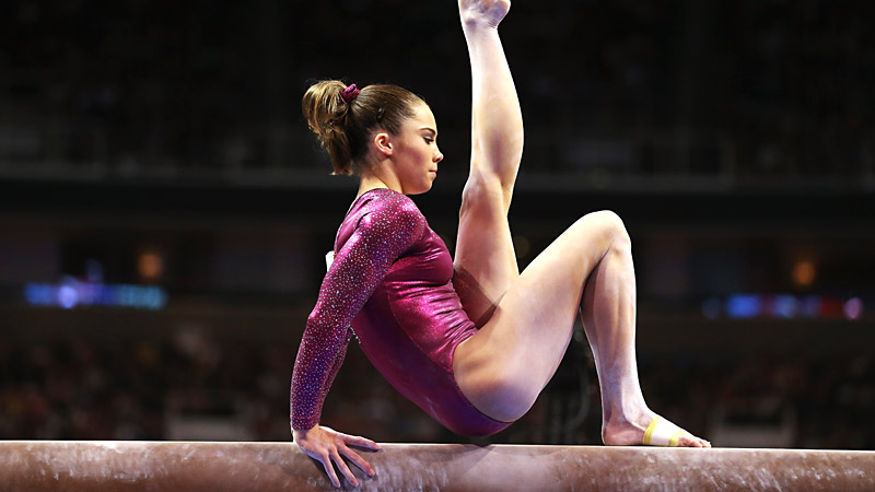 McKayla Maroney will compete in the the floor and fault at the U.S. nationals. She wants to prove that she's ready for worlds, which is coming up in October.