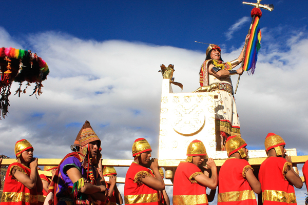 The Inti Raymi, or Festival of the Sun, was an ancient Incan celebration that honored the origin story of the Inca and paid tribute to their sun god. A theatrical re-enactment of the event has been held annually since the 1940s.
