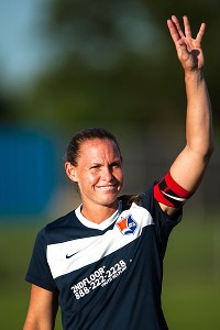 It's down to four teams in the inaugural NWSL season. Christie Rampone is hoping Sky Blue FC will be the last team standing.