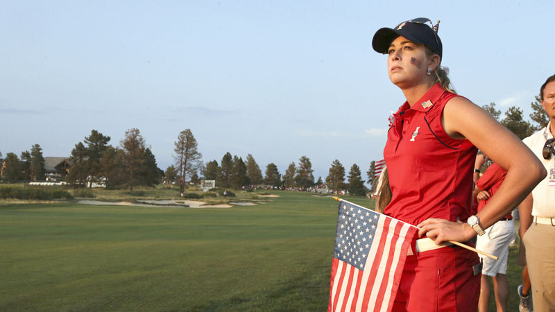 While it wasn't a huge upset, the Europeans handily defeating the Americans in the Solheim Cup was unexpected.