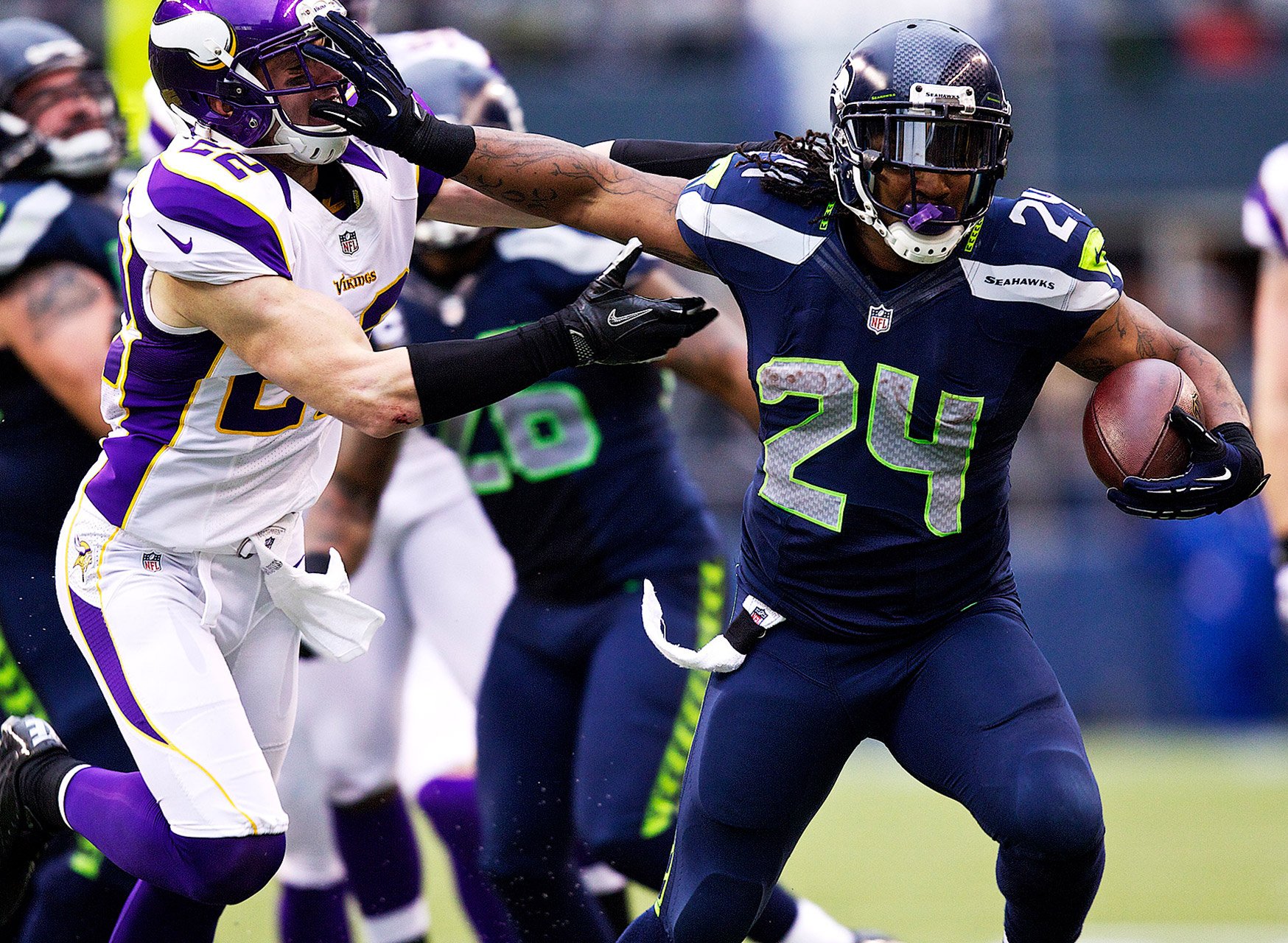 #NFLRank No. 27, Offense: Marshawn Lynch