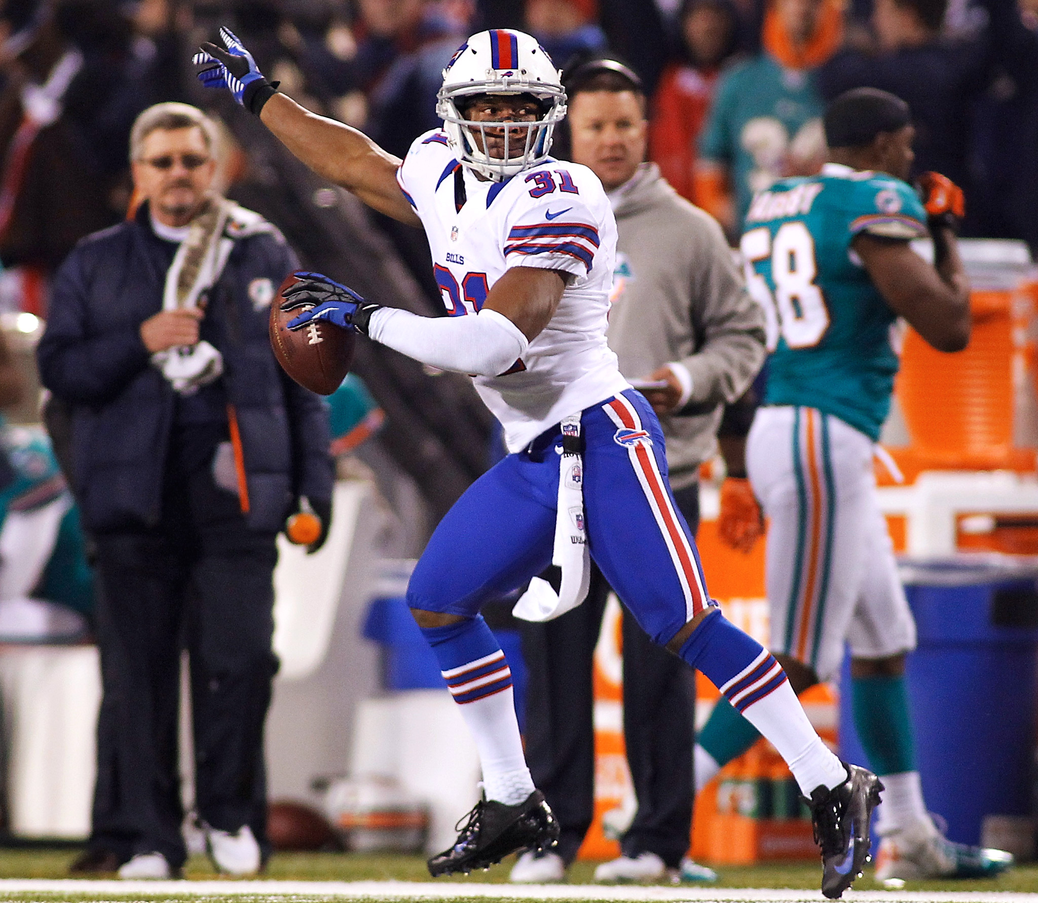 #NFLRank No. 26, Defense: Jairus Byrd