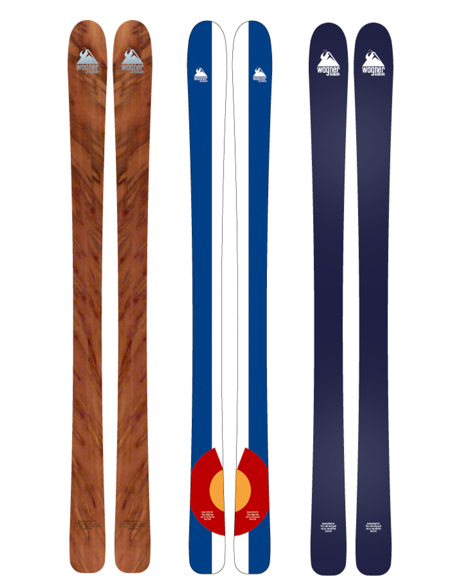 Wagner Custom Skis -- Colorado