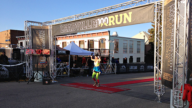 Leadville Finish