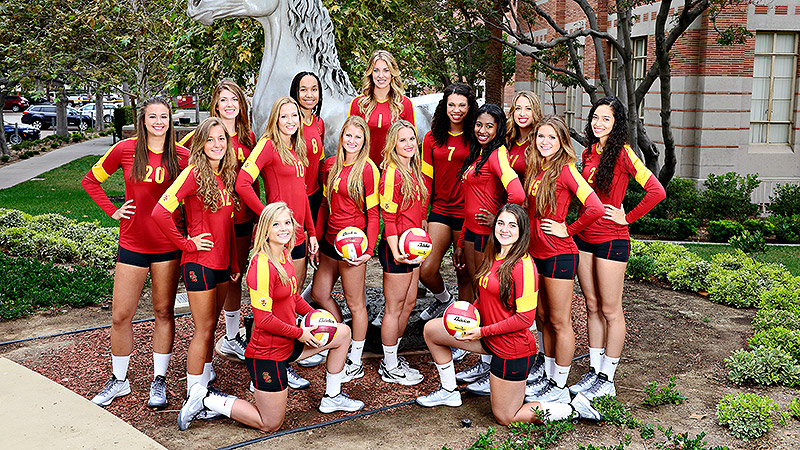 USC has been going through hard two-a-day practices to prepare for pre-conference matches.