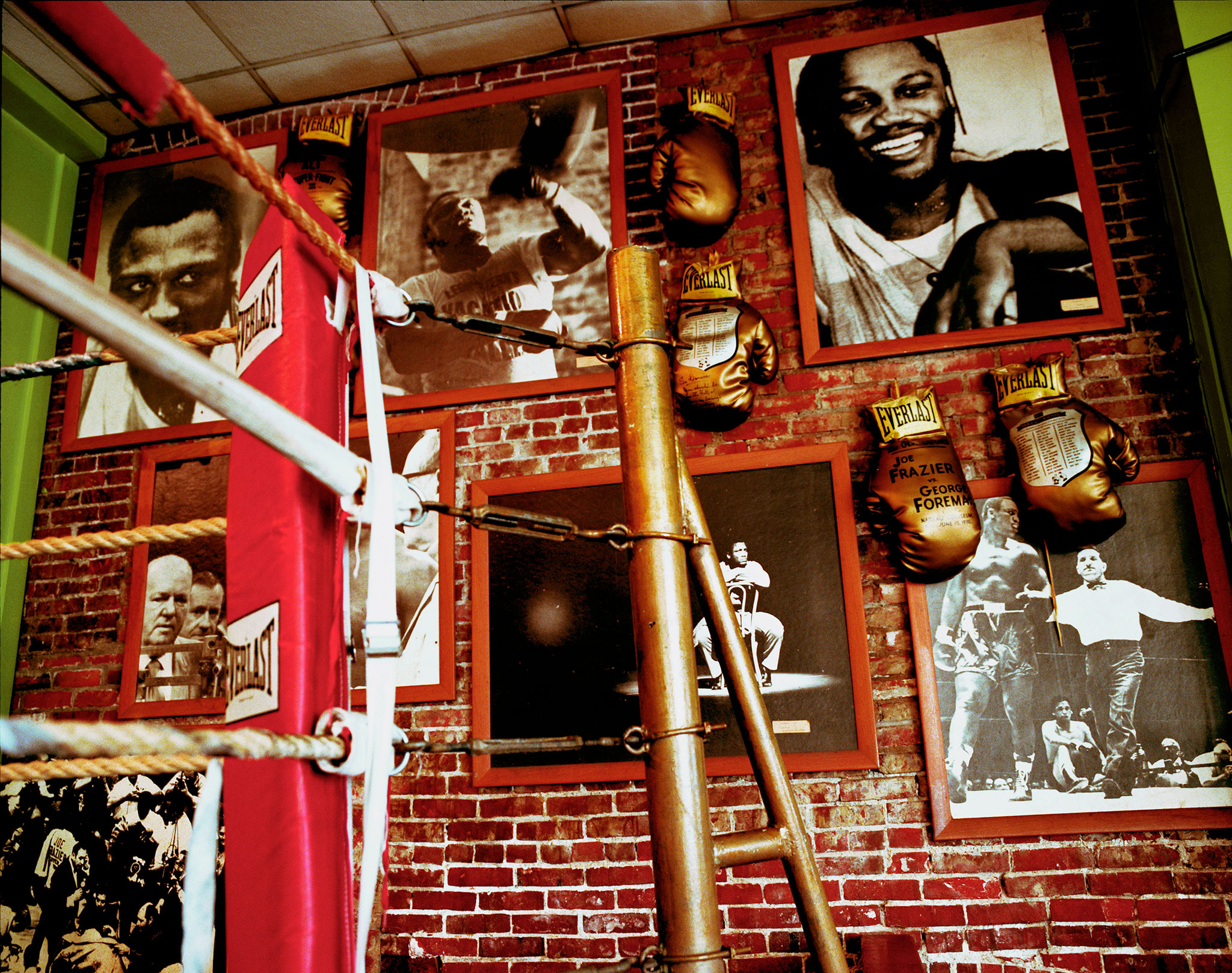 Joe Frazier's gym, Philadelphia