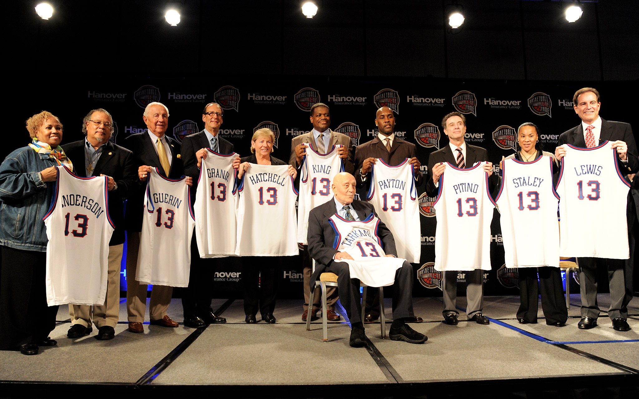 Basketball Hall of Fame Class of 2013