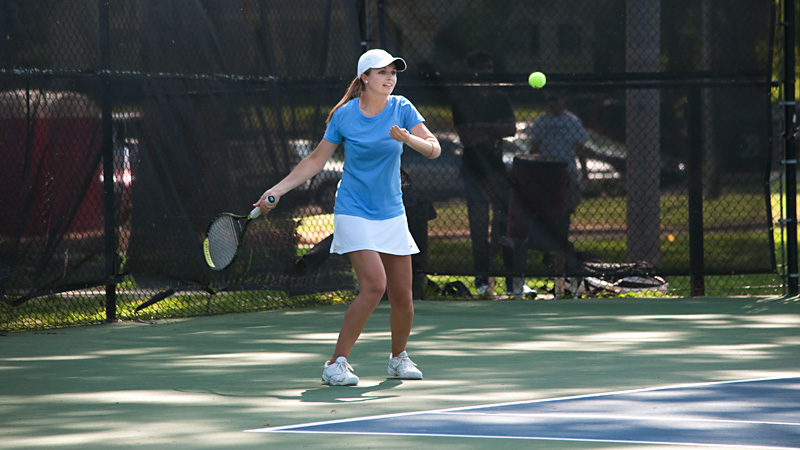 Kaleigh Carpenter went 16-5 at No. 4 singles and 15-6 at No. 2 doubles last year during her freshman season at Berry College.