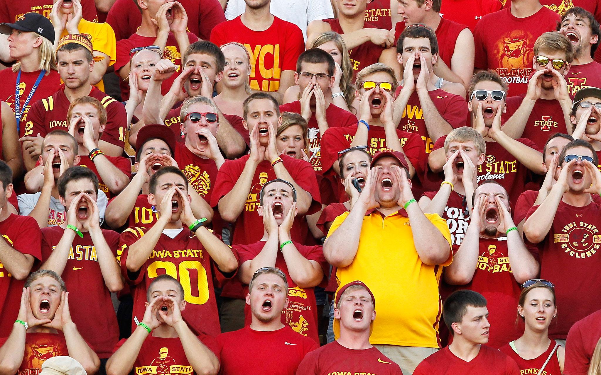 Iowa State Cyclone fans