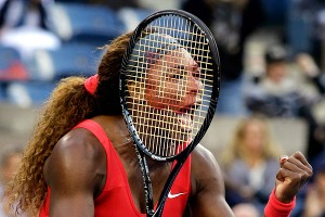 Although her 24-game win streak ended in the second set against Li Na, Serena Williams has been in sharp focus on her way to Sunday's final.