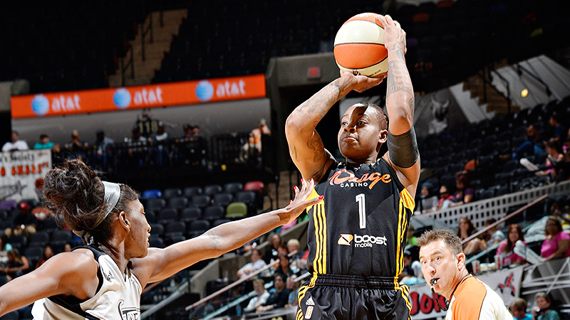 Before scoring 51 on Sunday, Riquna Williams' previous career high was 28 points against Phoenix on June 16.
