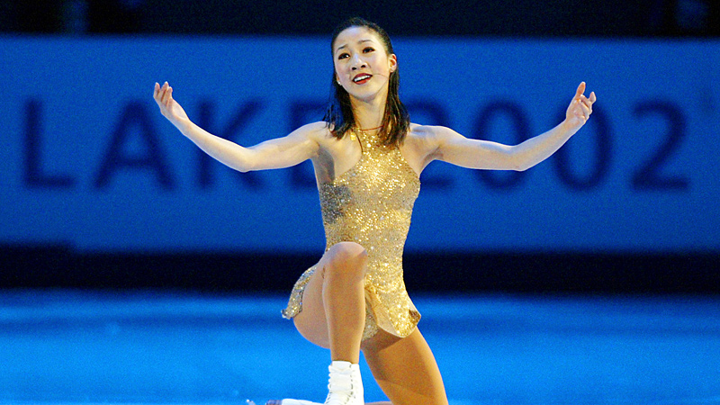 Known for her artistry on ice, Michelle Kwan would like to see if she has the same magic gliding across the water on skis.
