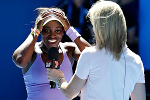 Sloane Stephens herself found it hard to believe after she upset Serena Williams in the Australian Open in January.