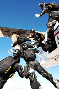What I love about skydiving is the camaraderie, Laura Dickmeyer says.