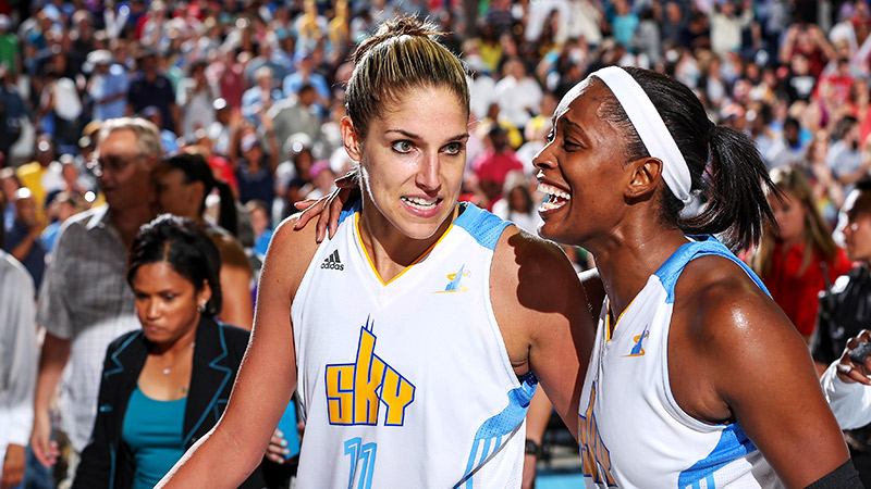 As the top seed in the East, Elena Delle Donne, Swin Cash and the Sky will be looking to bring Chicago its first WNBA title.