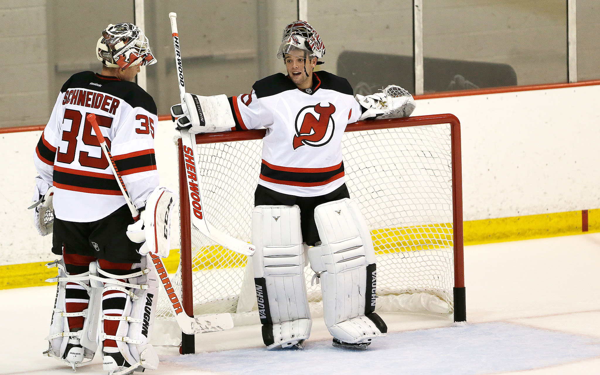 Cory Schneider in New Jersey