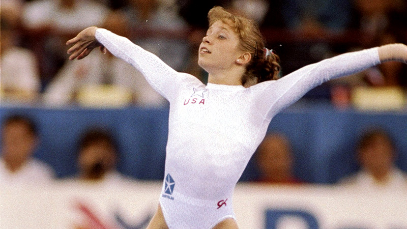 Kim Zmeskal is now 37 and has turned to coaching, and says the 1991 world all-around title was a defining moment in her life.