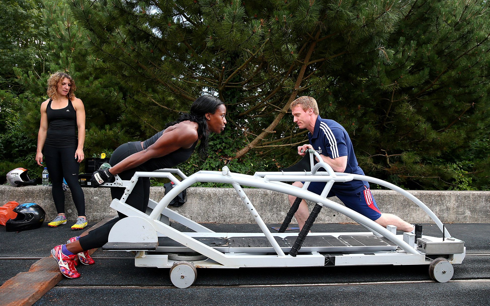 Great Britain Bobsleigh Training