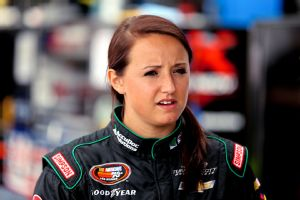 Kenzie Ruston, who competes in NASCAR's K&N Pro East, is one of the few graduates of NASCAR's Drive For Diversity program who has a regular ride.