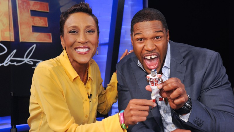 Whether he's fighting for same-sex marriages or PETA, wearing a tiara for his twins or chatting with Robin Roberts, former New York Giants great Michael Strahan's motor remains in high gear.