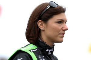Katherine Legge lost her IndyCar ride at the beginning of the year but picked up a sponsor for the Indy 500 and qualified on Bump Day.