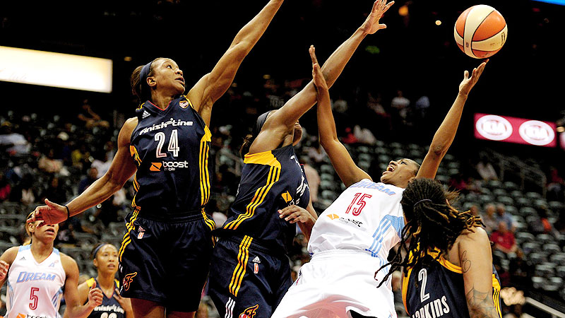 After winning its first title in 2012, Indiana entered last season looking like a contender. Instead, the Fever weathered an injury-plagued season, reaching the playoffs as the East's No. 4 seed. Still, Indiana swept top-seeded Chicago in the opening round of the playoffs (the sixth time in nine years the Fever have reached the conference finals) before being eliminated by Atlanta. Tamika Catchings and Erlana Larkins remain the centerpieces, but Katie Douglas (second on the team in scoring in '13) was traded to Connecticut. Briann January and Shavonte Zellous will continue to anchor the backcourt. All eyes are on how quickly Natasha Howard, the No. 5 WNBA draft pick, can bolster the Fever inside. And of course, the Fever are looking to send out coach Lin Dunn -- who will retire at season's end -- with another title.