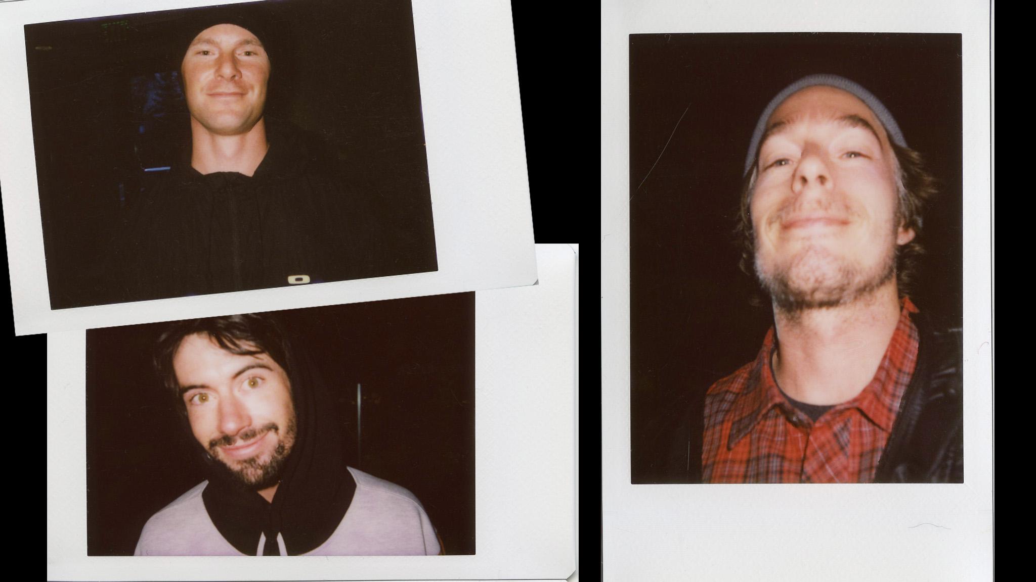 John Roderick, Zach Hooper, Corey Stasinos