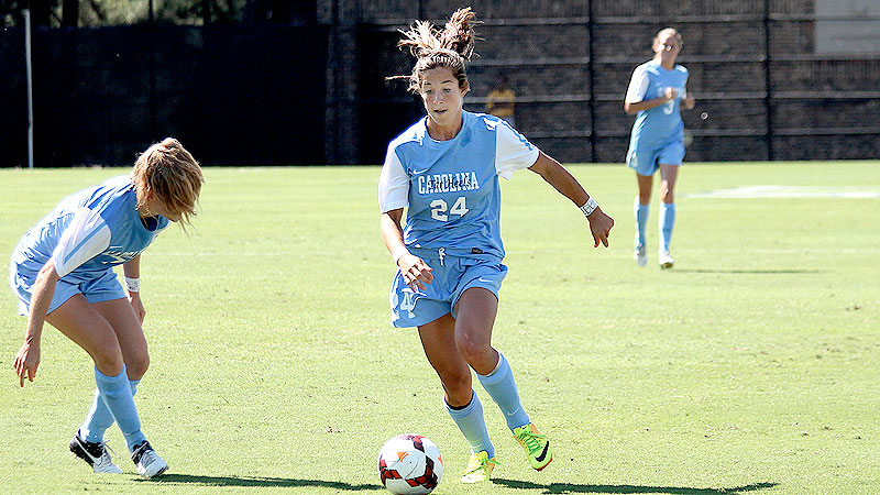 Paige Nielsen stepped into a starting role for North Carolina because of an injury to Alexa Newfield and has scored three goals, including the only one in a 1-0 win at Pittsburgh.