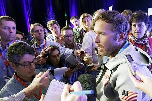 Olympic and World Championship gold medalist skier Bode Miller called Russia's anti-gay law embarrassing during Monday's U.S. Olympic media summit.