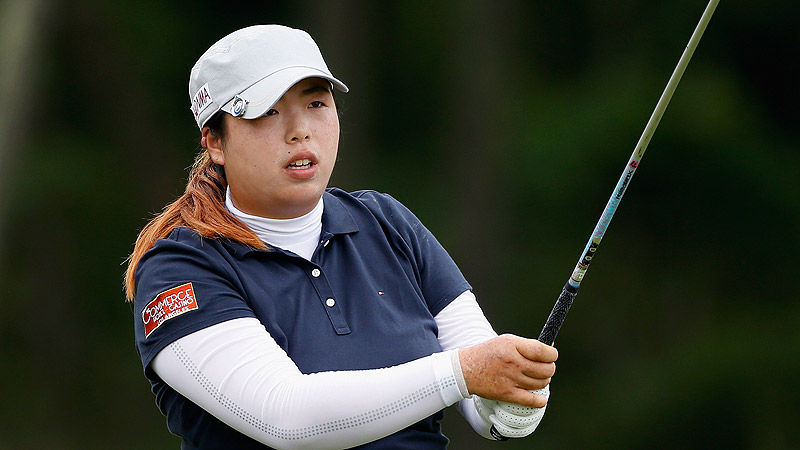 Shanshan Feng won the 2012 LPGA Championship, becoming the first golfer -- male or female -- from mainland China to win a major championship.