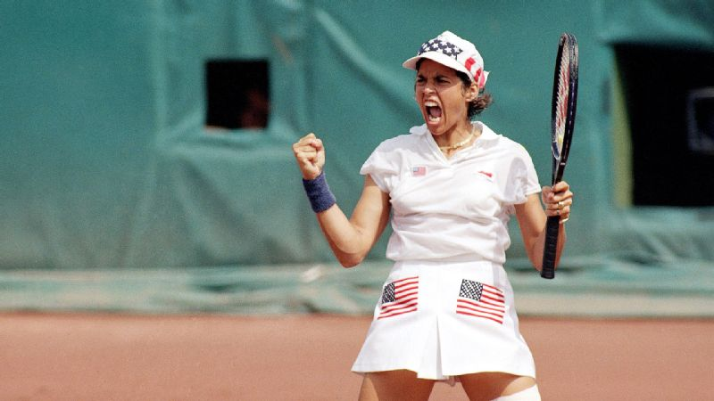 Gigi Fernandez won a gold medal with Mary Joe Fernandez representing the United States at the Barcelona Olympics. The feat remains one of the most  significant and controversial of her career.