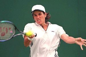 Considered one of the greatest doubles players of all time, Gigi Fernandez was inducted into the International Tennis Hall of Fame in 2010.