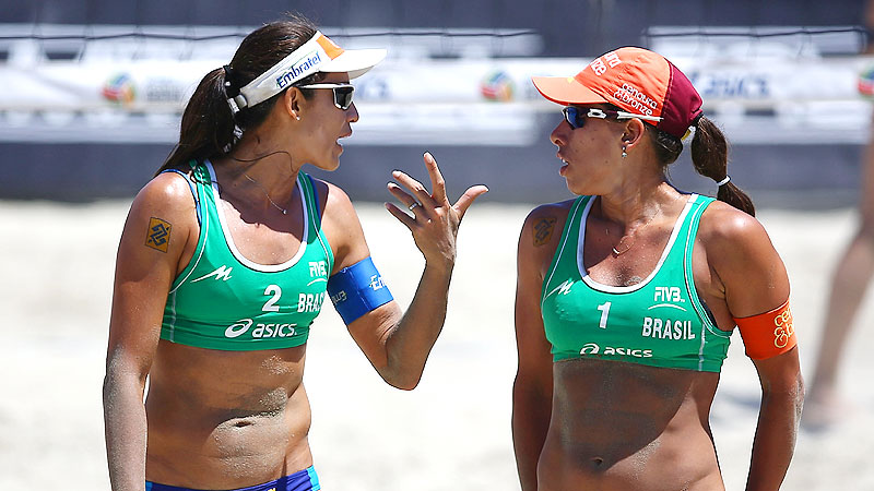 The top-ranked beach volleyball duo in the world dominated sand all over the globe this year with wins in Shanghai, The Hague, Rome and Long Beach. If that's not impressive enough, this was their first year playing together. We're afraid to think how good these two will be with a year of experience together under their belts.