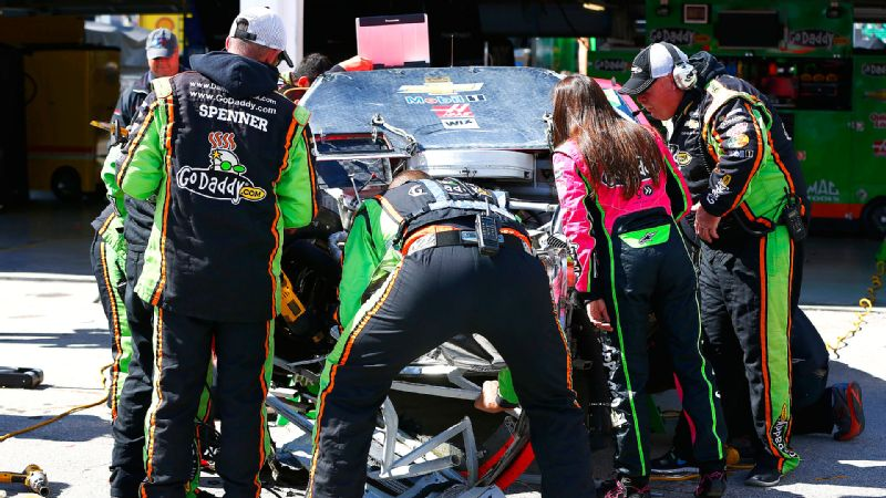Danica Patrick felt good in practice, but it was another matter in the race as she had the worst finish of her Sprint Cup career Sunday.