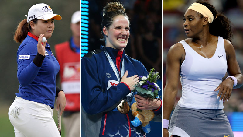 Four-time Olympic gold medalist Missy Franklin took home the Women's Sports Foundation Sportswoman of the Year (Individual Sport) on Oct. 16. Check out all the worthy nominees.