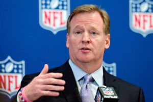 NFL commissioner Roger Goodell needs to agree with the players union on strong penalties for domestic violence, or unilaterally put those standards into the personal-conduct policy immediately.