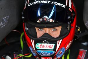 Courtney Force has proven her mettle against the guys in Funny Car, winning Winternationals in February.